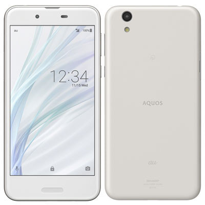 イオシス|【SIMロック解除済】 UQ mobile AQUOS sense SHV40 Silky White