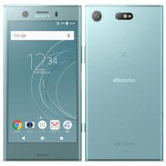 【SIMロック解除済】docomo Xperia XZ1 Compact SO-02K Horizon Blue