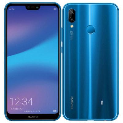 イオシス|【ネットワーク利用制限▲】Y!mobile Huawei P20 lite ANE-LX2J (HWSDA2) クラインブルー