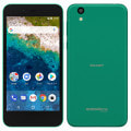 【SIMロック解除済】Y!mobile Android One S3 ターコイズ