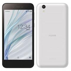 SHARP 【SIMロック解除済】Softbank AQUOS sense basic 702SH ホワイト