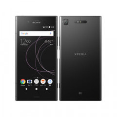 【ネットワーク利用制限▲】au Sony Xperia XZ1 SOV36 Black