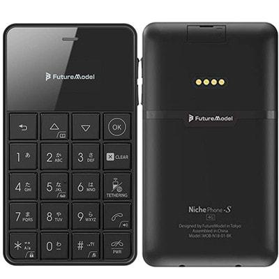 イオシス|NichePhone-S 4G MOB-N18-01-BK【ブラック SIMフリー】