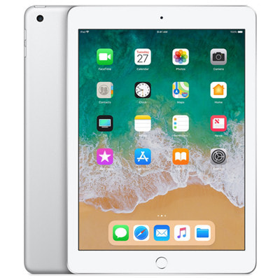 イオシス|【SIMロック解除済】【第6世代】SoftBank iPad2018 Wi-Fi+Cellular 32GB シルバー MR6P2J/A A1954