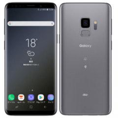 【SIMロック解除済】au Galaxy S9 SCV38 Titanium Gray