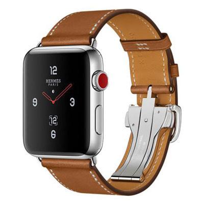 イオシス|Apple Watch Hermes Series3 42mm GPS+Cellularモデル MQMU2J/A [シンプルトゥール/ヴォー・バレニア(フォーヴ)レザーストラップ]