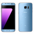 【SIMロック解除済】au GALAXY S7 edge SCV33 Blue Coral