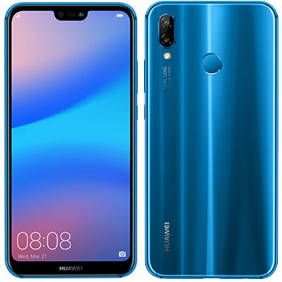イオシス Huawei P20 lite ANE-LX2J (HWU34) Klein Blue【UQモバイル版  SIMフリー】