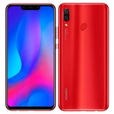 イオシス|Huawei nova3 PAR-LX9 Red【国内版 SIMフリー goo限定カラー】
