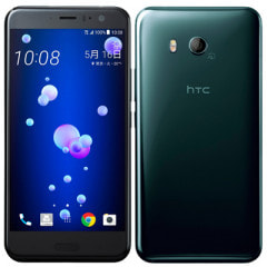 【SIMロック解除済】Softbank HTC U11 601HT Brilliant Black 64GB