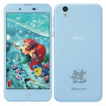 【ネットワーク利用制限▲】Disney Mobile on docomo DM-01J Blue