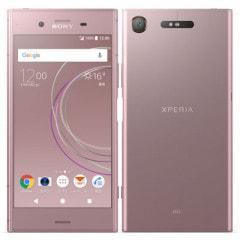 【ネットワーク利用制限▲】au Sony Xperia XZ1 SOV36 Venus Pink