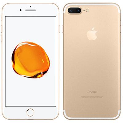 イオシス 【SIMロック解除済】au iPhone7 Plus 128GB A1785 (MN6H2J/A) ゴールド