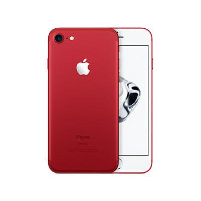 イオシス 【SIMロック解除済】au iPhone7 128GB A1779 (MPRX2J/A) レッド