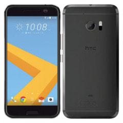 【SIMロック解除済】au HTC 10 HTV32 カーボングレイ