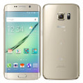 【SIMロック解除済】au Galaxy S6 edge SCV31 32GB Gold Platinum