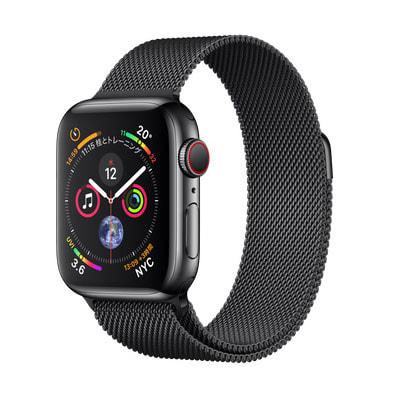 イオシス Apple Watch Series4 GPS + Cellularモデル 40mm MTVM2J/A 【スペースブラックミラネーゼループ】