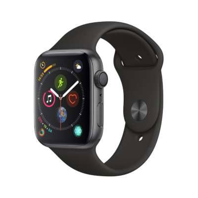 イオシス|Apple Watch Series4 GPSモデル 44mm MU6D2J/A 【スペースグレイアルミニウム/ブラックスポーツバンド】