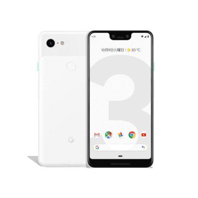 イオシス 【SIMロック解除済】 docomo Google Pixel3 XL G013D [Clearly  White 128GB]