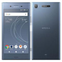 【SIMロック解除済】au Sony Xperia XZ1 SOV36 Moonlit Blue