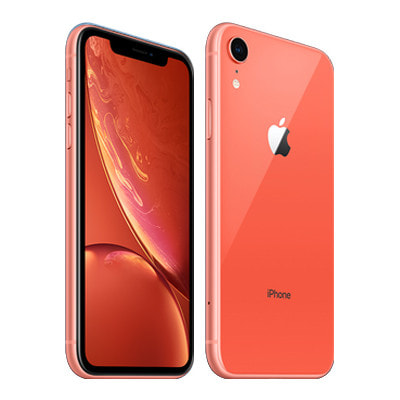 イオシス|【SIMロック解除済】au iPhoneXR A2106 (MT0A2J/A) 64GB  コーラル