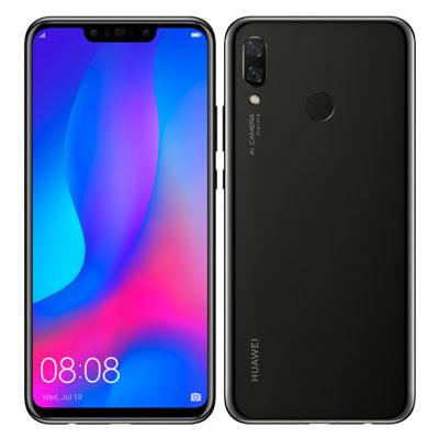 イオシス Huawei nova3 PAR-LX9  Black【国内版 SIMフリー】