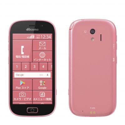 イオシス|らくらくスマートフォン me F-03K ピンク