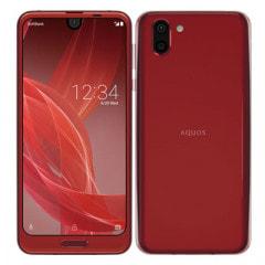 【ネットワーク利用制限▲】SoftBank AQUOS R2 706SH Rose Red