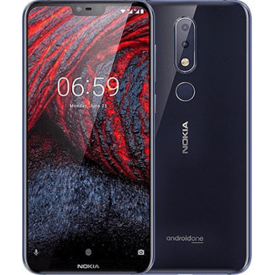 イオシス|Nokia X6 TA-1099 2018 Blue【4GB/64GB/海外SIMFREE】