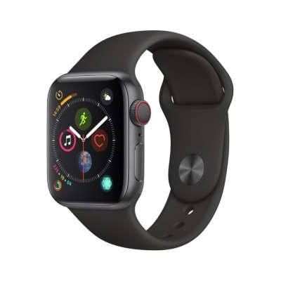 イオシス|Apple Watch Series4 GPS + Cellular 40mm MTVD2J/A [スペースグレイアルミニウム/ブラックスポーツバンド]