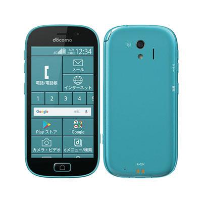 イオシス|らくらくスマートフォン me F-03K ブルー