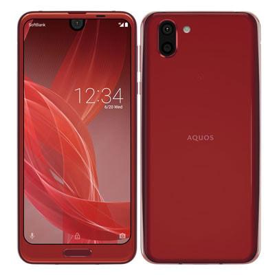 イオシス 【ネットワーク利用制限▲】SoftBank AQUOS R2 706SH Rose Red