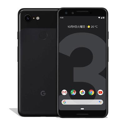 イオシス|【SIMロック解除済】docomo Google Pixel3 G013B [Just Black 64GB]