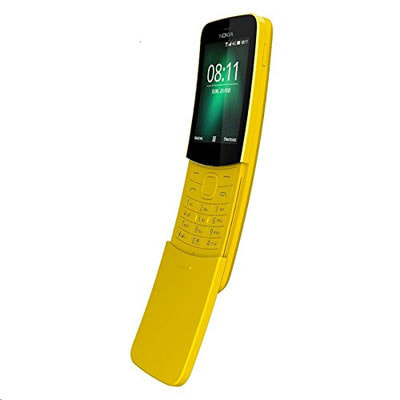 イオシス|Nokia 8110 4G TA-1059 Dual-SIM  【Yellow 4GB 海外版 SIMフリー】