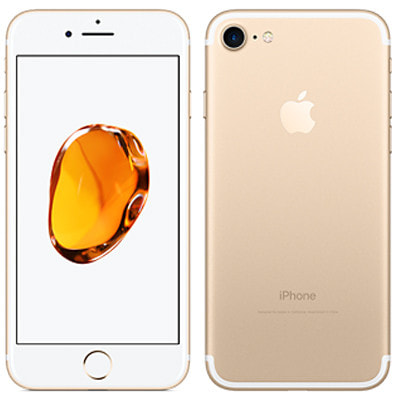 イオシス|【SIMロック解除済】au iPhone7 32GB A1779 (MNCG2J/A) ゴールド
