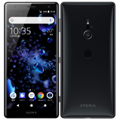 イオシス 【SIMロック解除済】SoftBank Sony Xperia XZ2 702SO Liquid Black