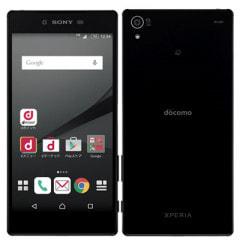 【SIMロック解除済】【イヤホンジャック不良】docomo Xperia Z5 Premium SO-03H Black