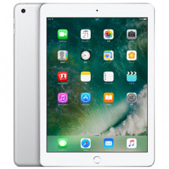 【SIMロック解除済】【第5世代】au iPad2017 Wi-Fi+Cellular 32GB シルバー MP1L2J/A A1823