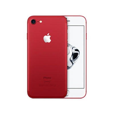 イオシス|【SIMロック解除済】au iPhone7 128GB A1779 (MPRX2J/A) レッド