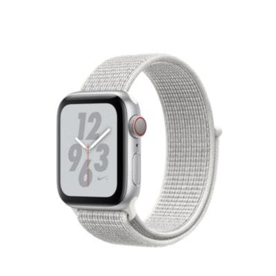 イオシス|Apple Watch Nike+ Series4 GPS + Cellularモデル 44mm MTXJ2J/A [サミットホワイトNikeスポーツループ]