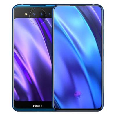 イオシス|Vivo NEX Dual Display Edition Dual-SIM V1821A 【Polar Blue 10GB 128GB 中国版 SIMフリー】