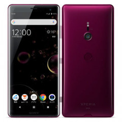 【ネットワーク利用制限▲】au Xperia XZ3 SOV39 Bordeaux Red
