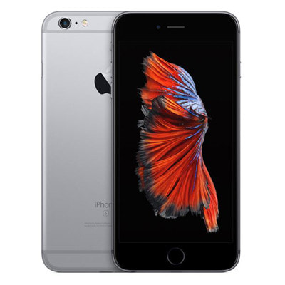 イオシス|【SIMロック解除済】au iPhone6s Plus 16GB A1687 (MKU12J/A) スペースグレイ