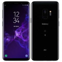 【SIMロック解除済】au Galaxy S9 SCV38 Midnight Black