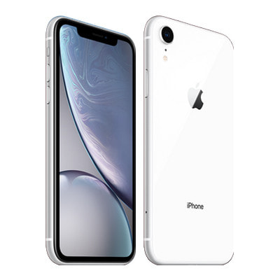 イオシス|【SIMロック解除済】SoftBank iPhoneXR A2106 (MT032J/A) 64GB ホワイト