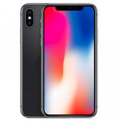 【SIMロック解除済】au iPhoneX 256GB A1902 (MQC12J/A) スペースグレイ