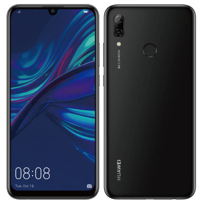 イオシス|HUAWEI nova lite 3 POT-LX2J Midnight Black 【国内版 SIMフリー】