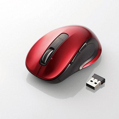 イオシス 【ワイヤレスレーザーマウス】M-LS15DLRD