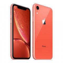 【SIMロック解除済】au iPhoneXR A2106 (MT0A2J/A) 64GB  コーラル