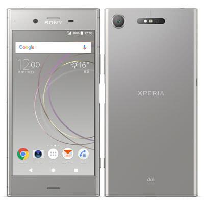 イオシス 【ネットワーク利用制限▲】au Sony Xperia XZ1 SOV36 Warm Silver